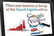 Primary or initial website promotion services