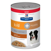 Hill's Prescription Diet k/d + Mobility Chicken & Vegetable Stew Canne