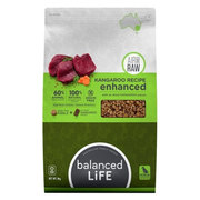 Balanced Life Enhanced Dry Dog Food With Kangaroo Meat Pieces