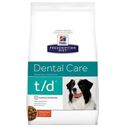 Hill's Prescription Diet t/d Dental Care with Chicken Dry Dog Food