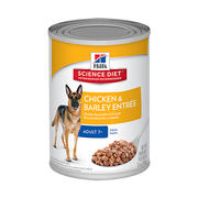Hill's Science Diet Mature Adult Gourmet Chicken Entree Canine Cans