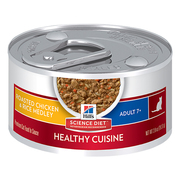 Hill's Science Diet Adult 7+ Roasted Chicken & Rice Medley Canned Cat