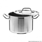 Fed Stockpots Quality 5 Stainless Steel With Reinforced Pouring Lip- 5