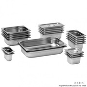 GN12100 1/2 X 100 mm Gastronorm Pan Australian Style
