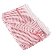 Wonderdry Red Tea Towels(Pack of 10)