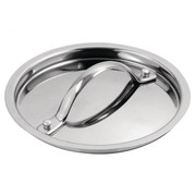 Vogue Tri Wall Saucepan Lid 140mm