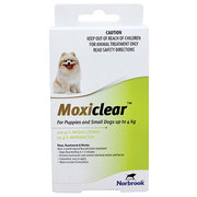 Moxiclear for Dogs – Monthly Flea,  Worm & Heartworm Control Treatment