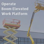 Operate Boom Elevated Work Platform