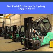 Get Forklift Licence in Sydney   Apply Now