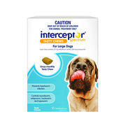 Interceptor Spectrum Chews For Dogs - 22 to 45kg