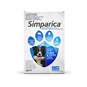 Simparica Chewables Flea & Tick Preventive for Medium Dogs
