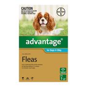 Flea and Tick control - Advantage for Dogs