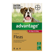 Flea and Tick control - Advantage for Large Dogs