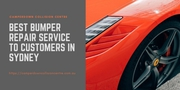 Best Bumper Repair Service to Customers in Sydney