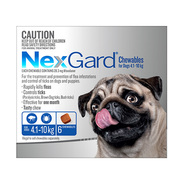 Nexgard Chewables for dogs -Oral Flea and Tick treatment