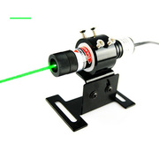 DC Power 515nm 50mW Green Cross Laser Alignment