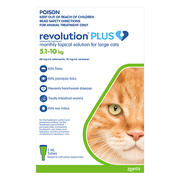 Revolution Plus for Large Cats (5 to 10 kg)