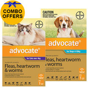 Buy Advocate for Cats Over 4 kg + Advocate for Dogs Combo Pack