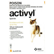 Activyl for Cats: Buy Activyl for Cats Online at best price in Austral