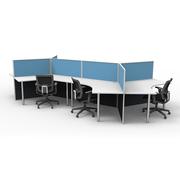 Smart 120 Degree Six Desk Pod