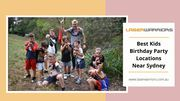 Best Kids Birthday Party Locations Near Sydney