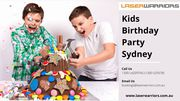 Kids Birthday Party Sydney - Laser Warriors