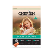 CHERISH PLAYFUL PUPPY SALMON AND CHICKEN DRY DOG FOOD