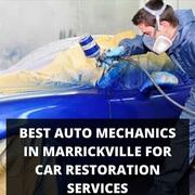 Best Auto Mechanics in Marrickville for Car Restoration Services