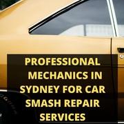 Professional Mechanics in Sydney for Car Smash Repair Services