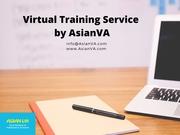 Virtual Training Services