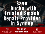 Save Bucks with Trusted Smash Repair Provider in Sydney
