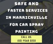 Safe and Faster Services in Marrickville for Car Spray Painting