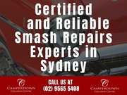 Certified and Reliable Smash Repairs Experts in Sydney