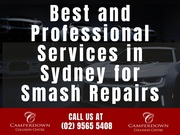 Best and Professional Services in Sydney for Smash Repairs
