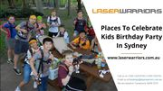 Celebrate Kids Birthday Party In Sydney