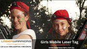 Girls Mobile Laser Tag