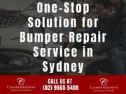 One-Stop Solution for Bumper Repair Service in Sydney