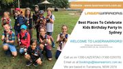 Best Places To Celebrate Kids Birthday Party