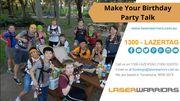 Make Your Birthday Party - www.laserwarriors.com.au