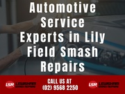 Automotive Service Experts in Lily Field Smash Repairs
