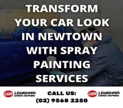 Transform Your Car Look in Newtown with Spray Painting Services