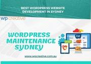 Leading Wordpress Maintenance Sydney services with WP Creative