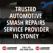 Trusted Automotive Smash Repairs Service Provider in Sydney