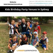 Kids Birthday Party Venues In Sydney