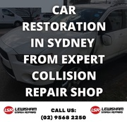 Car Restoration in Sydney from Expert Collision Repair Shop