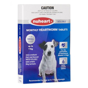 Buy Branded Nuheart Heartgard for Dogs Online at lowest Price