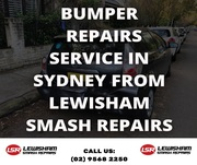 Bumper Repairs Service in Sydney from Lewisham Smash Repairs