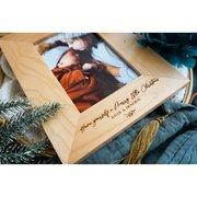 Buy Personalised Alder Wood Photo Frame – Jimi Keepsakes
