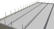 Reinforced concrete suspended slab flooring system