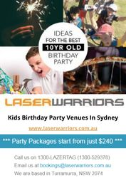 Best Kids Birthday Party Venues In Sydney